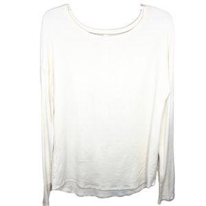 Under Armour Ivory Long Sleeve Top - S